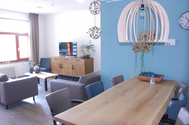 Een huiskamer op de WLZ-afdeling Buitengewoon