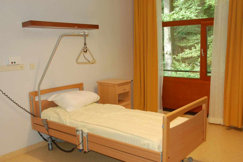 Een kamer op de verpleegafdeling
