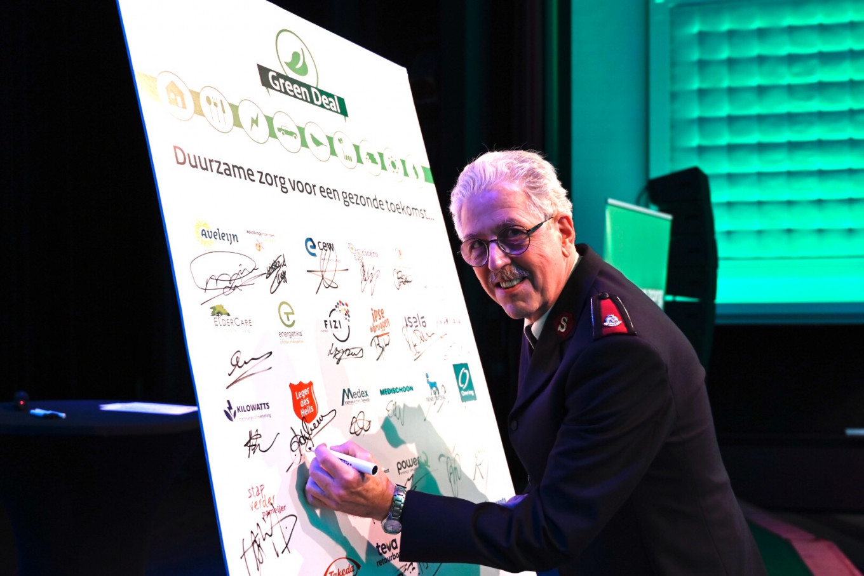 Ondertekening Green Deal