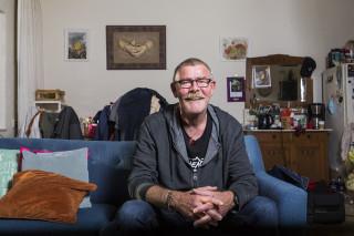 Zonder Gerard (61) is de buurthuiskamer in Woerden niet compleet