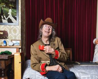 Michel woont op zichzelf, met de Beatles