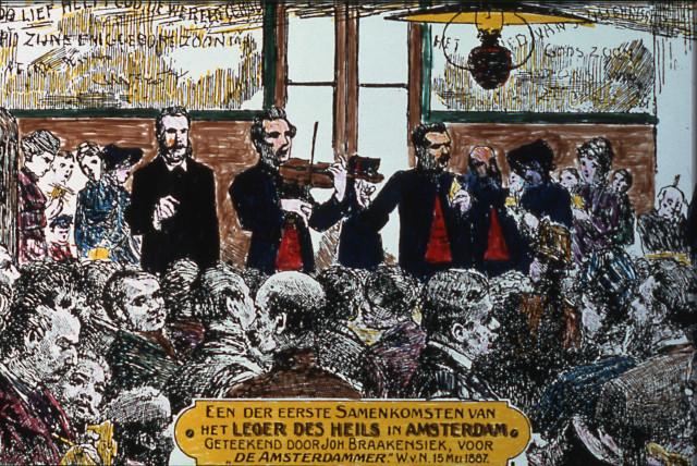 Het Leger des Heils in Nederland