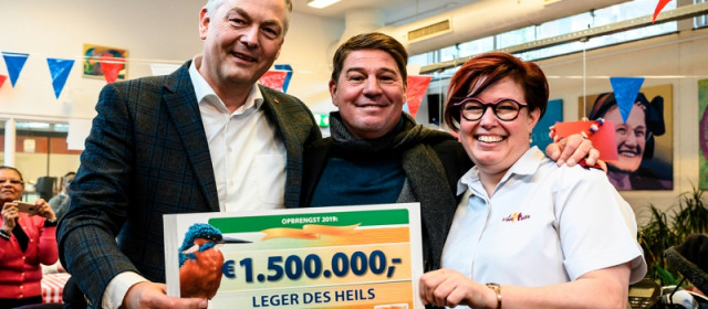 Leger des Heils donatie Postcode Loterij buurthuiskamers