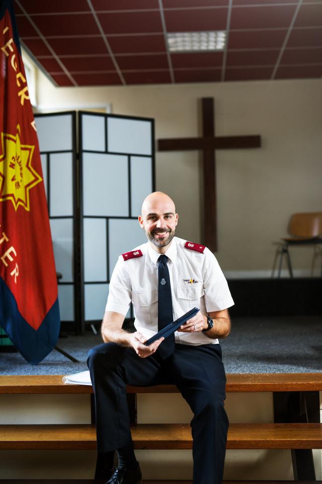 Officier Leger des Heils