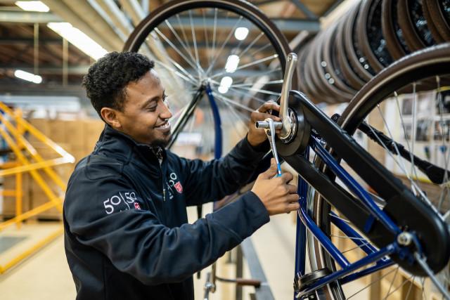 5050 bike Leger des Heils fiets