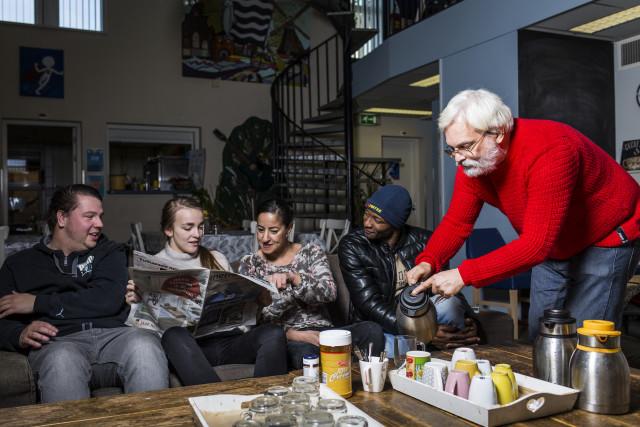 Buurtwerk buurtwoonkamer Rotterdam Delfshaven