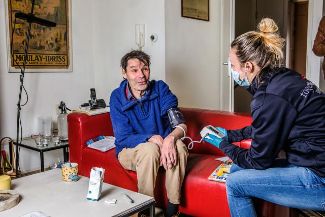 Met OGGZ-Verpleegkundige Marjolein op bezoek bij twee deelnemers