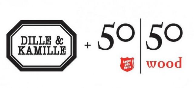 Samenwerking Dille & Kamille en 50 50 Wood