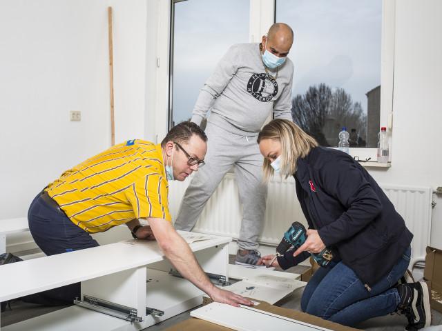 Ikea daklozen Leger des Heils