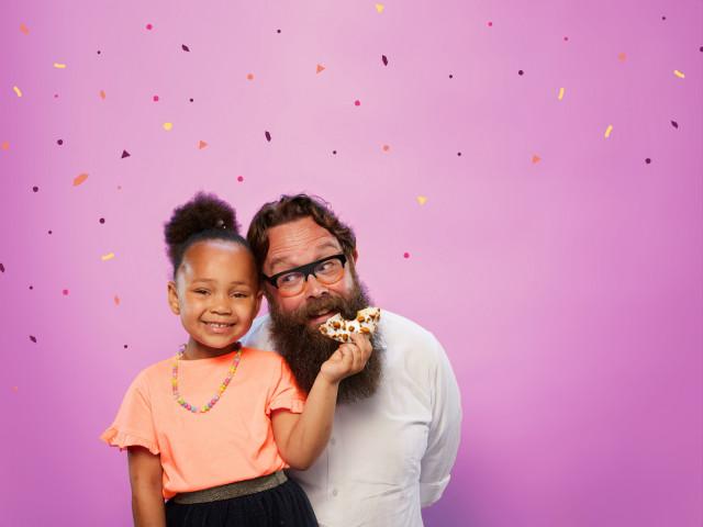 Kom naar de donutdag op elke 1e vrijdag van juni.